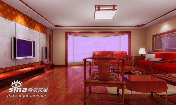 中式 四居 客厅图片来自用户2737751153在260平米中式20的分享