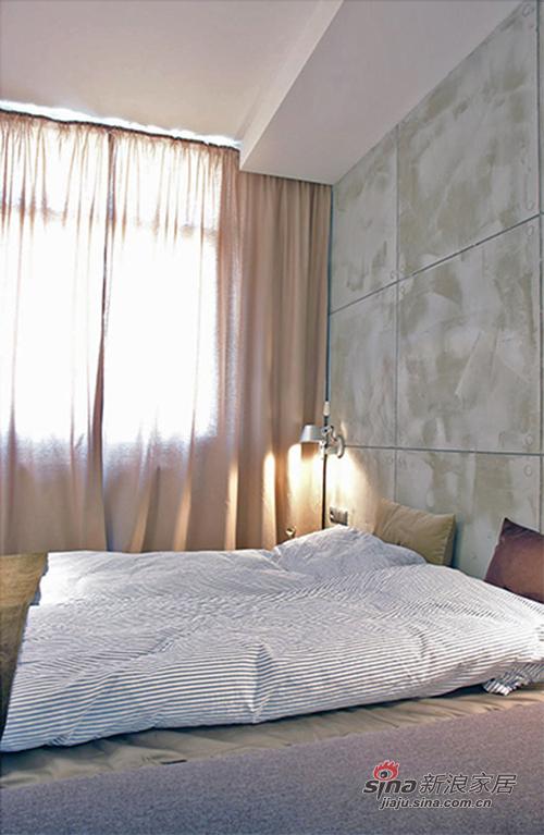 简约 三居 卧室图片来自佰辰生活装饰在【高清】12万营造98平北欧时尚质感之家25的分享