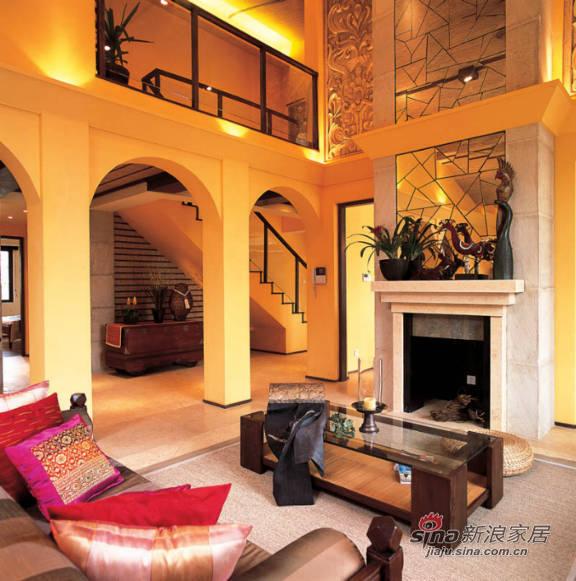 简约 别墅 客厅图片来自用户2739153147在360平印巴风情别墅41的分享