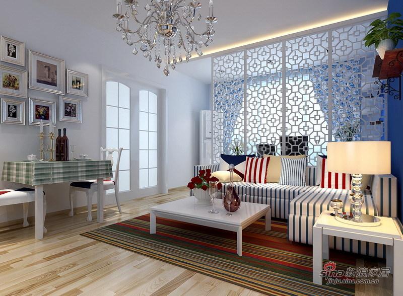简约 二居 客厅图片来自用户2738813661在83平蓝色简约地中海爱窝48的分享