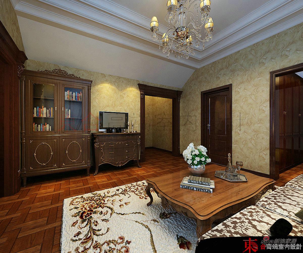 欧式 别墅 卧室图片来自用户2745758987在【高清】200平典雅欧式风情42的分享