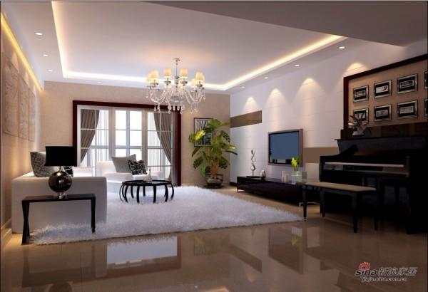现代 三居 客厅图片来自用户2765170907在11万打造165平现代风格家居31的分享