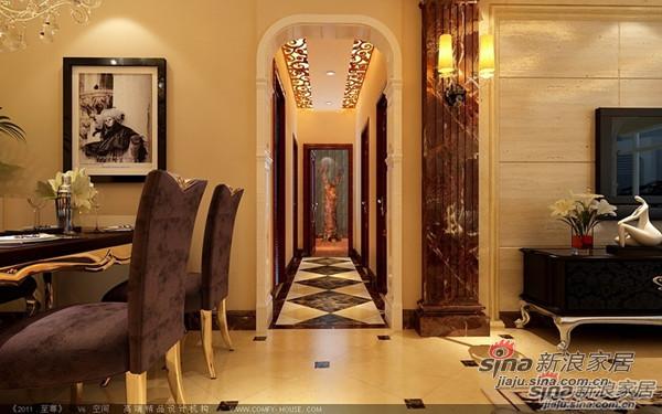 欧式 三居 餐厅图片来自用户2746948411在148平古典奢华版欧式风格3居室95的分享