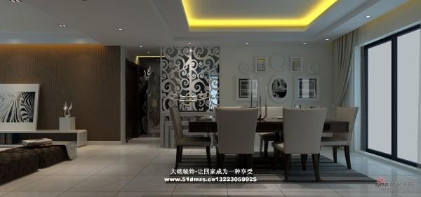 简约风格家庭装修设计-餐厅设计效果图
