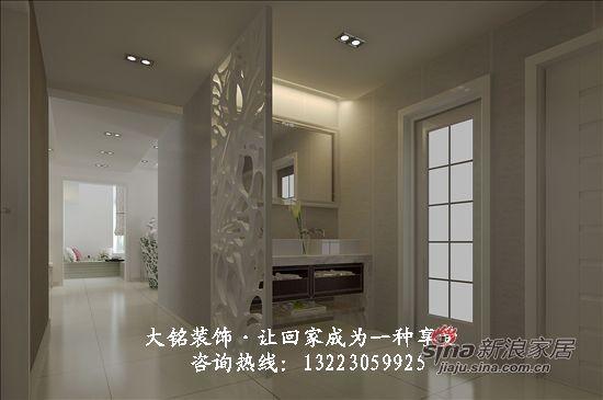 现代简约家庭装修设计-卫生间