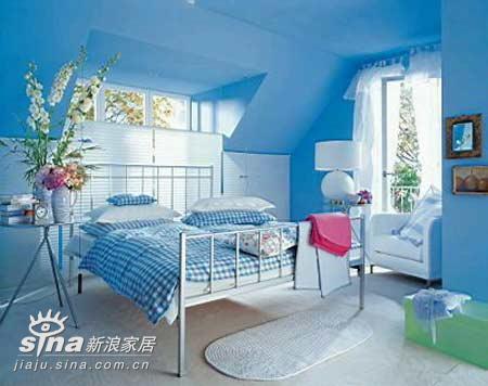 欧式 一居 卧室 小清新 屌丝图片来自用户2772856065在快乐卧室48的分享