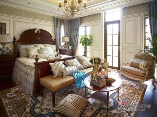 简约 三居 卧室图片来自用户2556216825在6万打造145平欧式风格新居75的分享