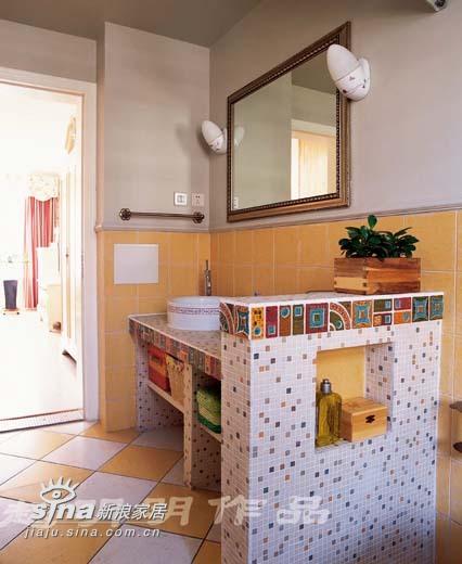 欧式 四居 卫生间图片来自用户2746889121在半岛上的风情60的分享