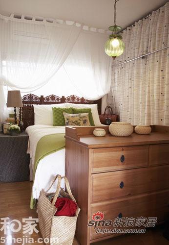 简约 一居 卧室图片来自用户2738813661在夏日清凉简约家 渗出一抹清新绿78的分享
