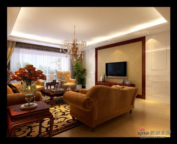 欧式 四居 客厅图片来自用户2746948411在大包13万打造180㎡欧式品质4居室66的分享