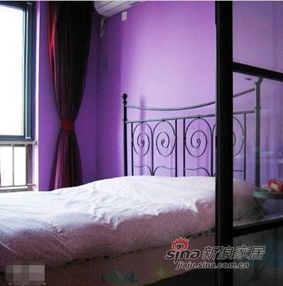 混搭 复式 卧室图片来自用户1907689327在12万装130平惊艳色彩复式94的分享