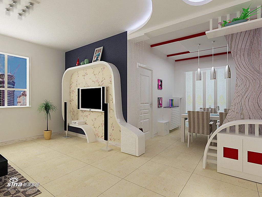 简约 三居 客厅图片来自用户2738093703在太原市警苑三室40的分享