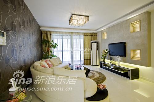简约 二居 客厅图片来自用户2738820801在建德公寓13的分享