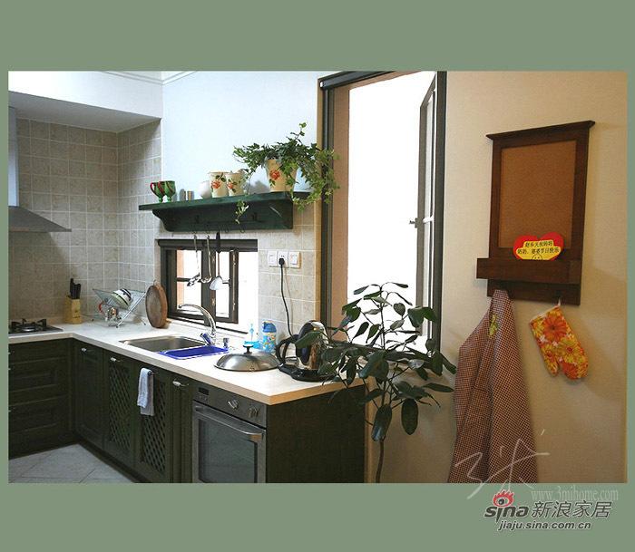 田园 二居 厨房图片来自用户2737791853在小资70平田园纯美二居88的分享
