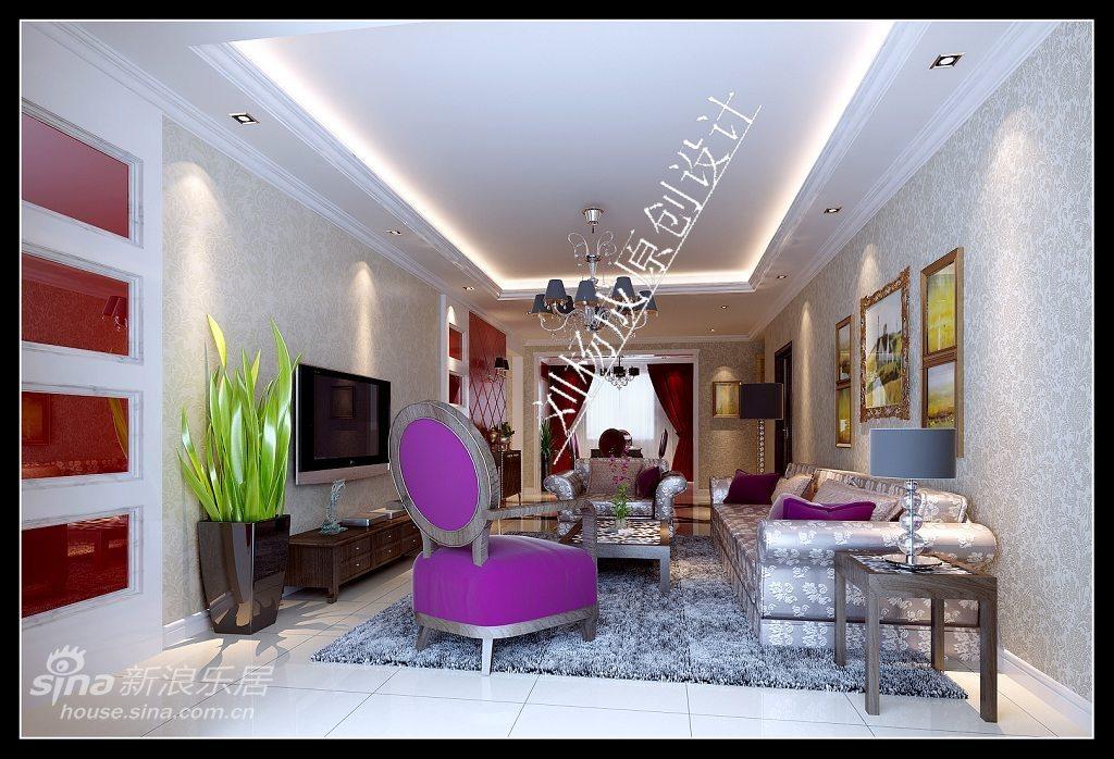 欧式 复式 客厅图片来自用户2757317061在喜庆的复试婚房32的分享