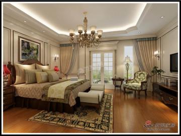 御龙湾210㎡-4室3厅-欧式风格25