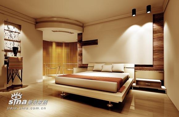简约 三居 卧室图片来自用户2556216825在实创装饰绿城百合38的分享