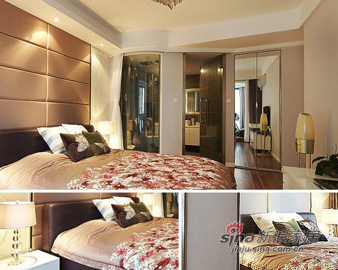 简约 二居 卧室图片来自用户2557979841在5万装89平暖意超2居美家30的分享