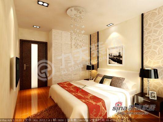 简约 一居 卧室图片来自阳光力天装饰在时尚简约小户型46的分享