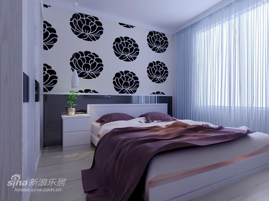 简约 三居 卧室图片来自用户2745807237在简单大方的爱家66的分享