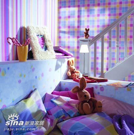 七彩儿童房10