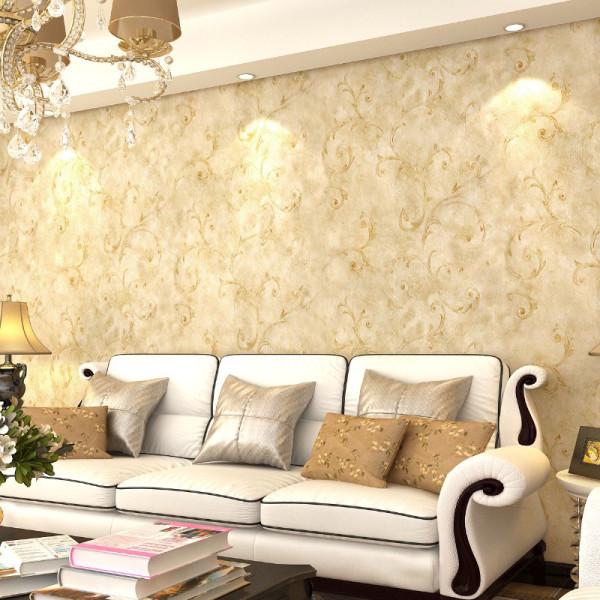 长纤无纺布壁纸,适合卧室床头背景或者客厅电视背景墙。非常不错的欧式无纺布墙纸。也可以室内满铺。
