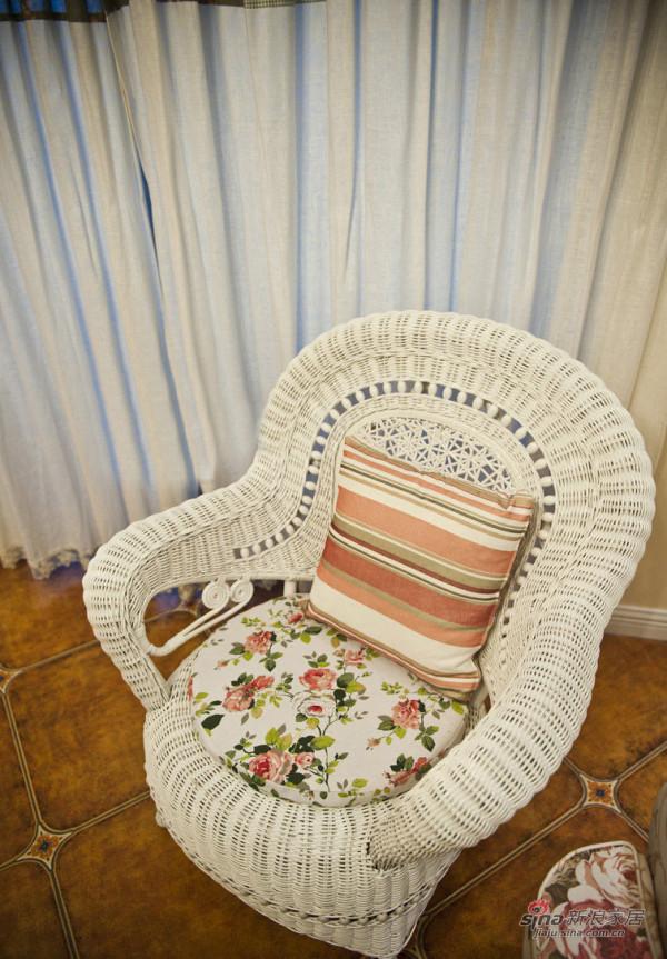 阳台单人椅