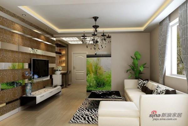 简约 二居 客厅图片来自用户2739153147在4.8万喜迎2012现代简约两居室48的分享