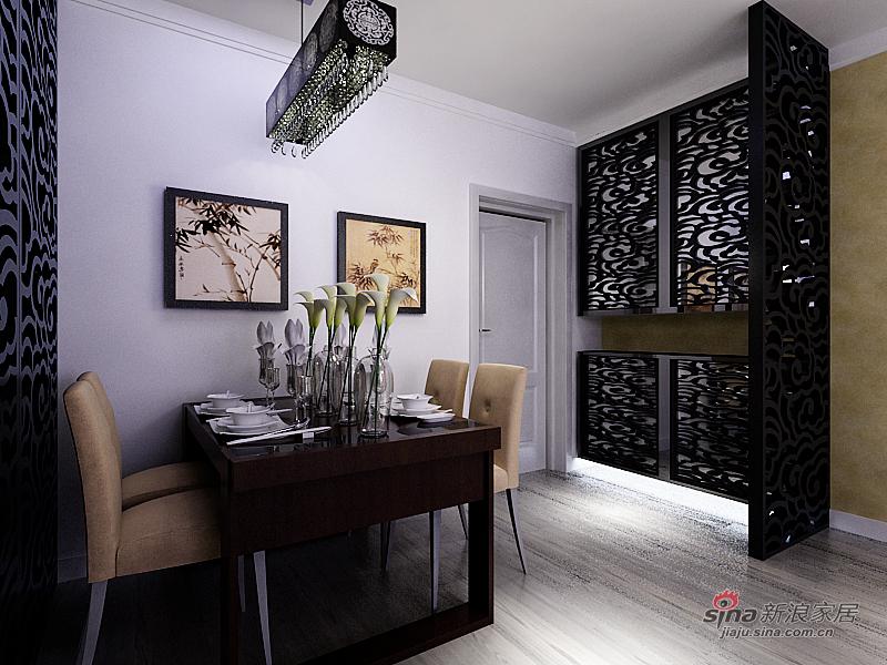 中式 二居 餐厅图片来自用户1907696363在【和谐家园】简约中式83的分享