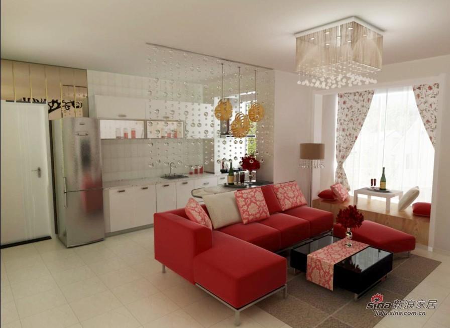 现代 二居 客厅图片来自用户2765170907在清新现代风51的分享