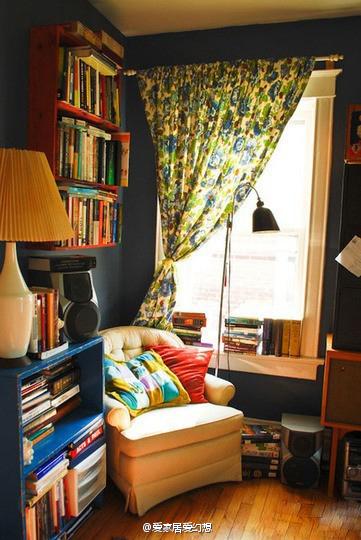 简约 现代 田园 生活 创意家居 书房 阅读 文艺青年图片来自用户2771736967在最受欢迎实用范 10个书房收纳装饰兼备的分享