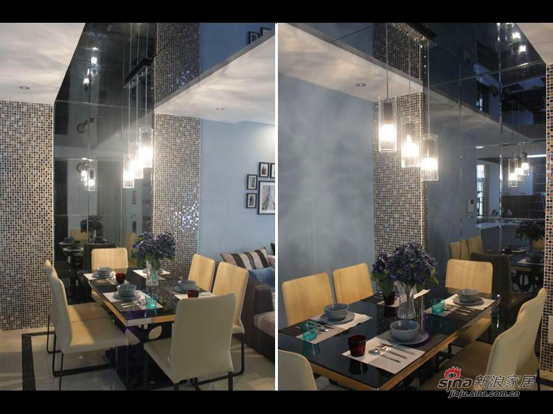 简约 二居 餐厅图片来自用户2737782783在【高清】5万打造89平简约个性小家17的分享