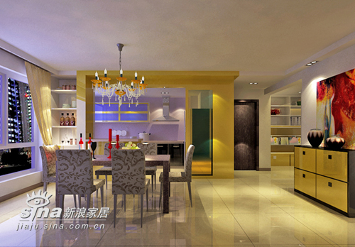 欧式 别墅 餐厅图片来自用户2746869241在亚光亚装饰欧式作品展示78的分享