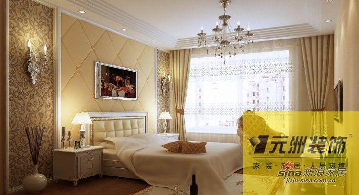 欧式 别墅 卧室图片来自用户2746869241在尚湖世家300平下叠别墅欧美风46的分享