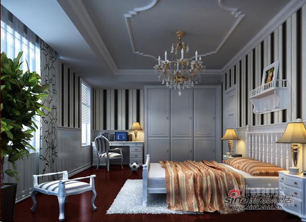 欧式 别墅 卧室图片来自用户2746953981在奢华欧式风专属别墅设计56的分享
