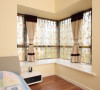 卧室转角的凸窗