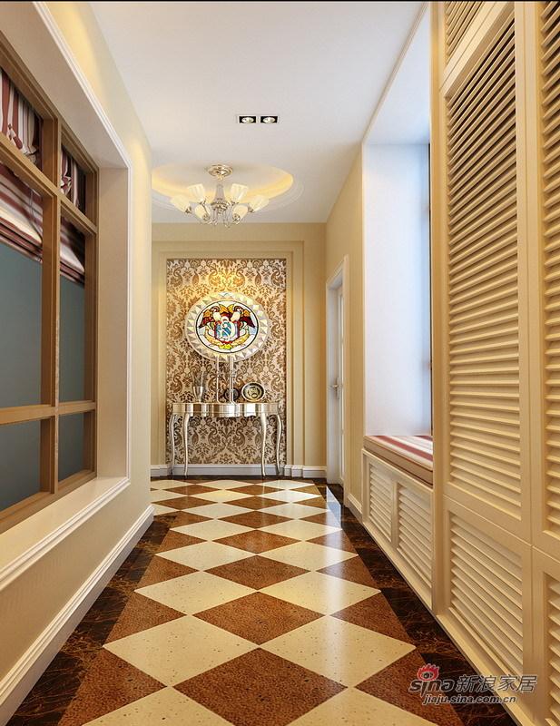 欧式 别墅 玄关图片来自用户2557013183在绝对惊艳280平简欧品质别墅生活73的分享