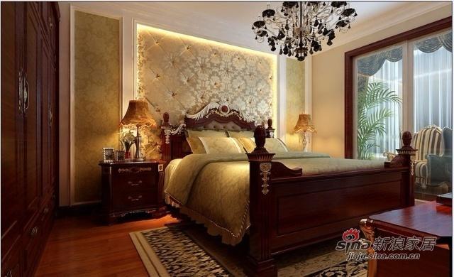 欧式 三居 卧室图片来自用户2745758987在11万打造120平米现代古典的欧式奢华48的分享