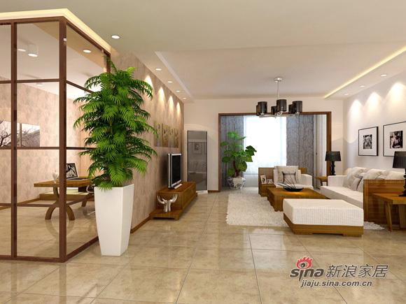 中式 三居 客厅图片来自用户1907662981在8万编织126平美丽温馨3居92的分享