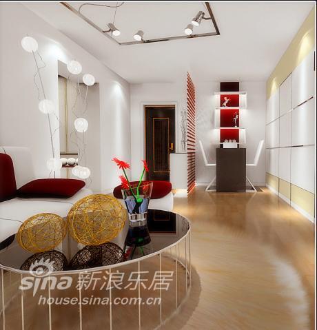 简约 二居 客厅图片来自用户2739378857在80平米简约风格17的分享
