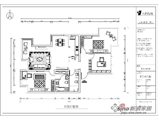 中铁国际城平面布置图
