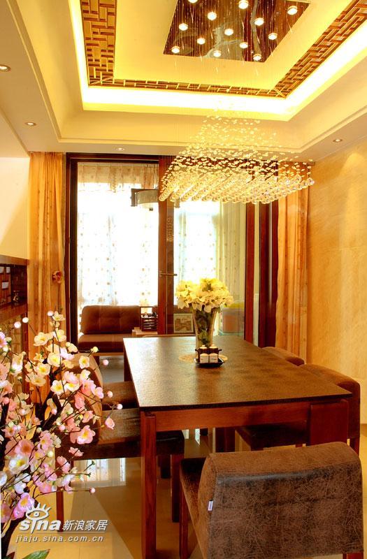 中式 别墅 餐厅图片来自用户2748509701在新中式26的分享