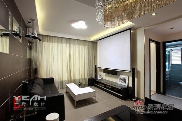 120平现代简约黑白灰公寓