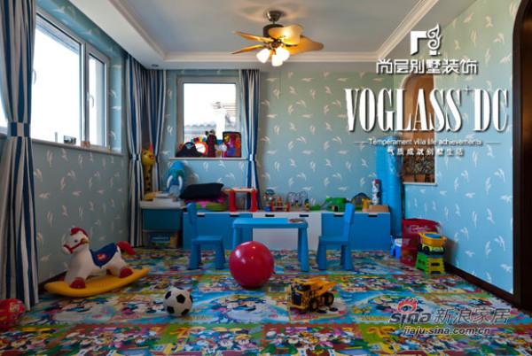 别墅装修儿童房
