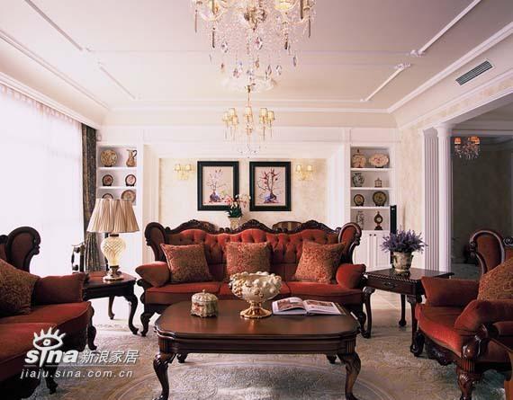 欧式 三居 客厅图片来自用户2746948411在万城华府92的分享