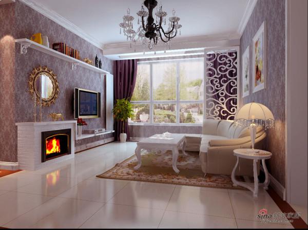 红山世家 -客厅