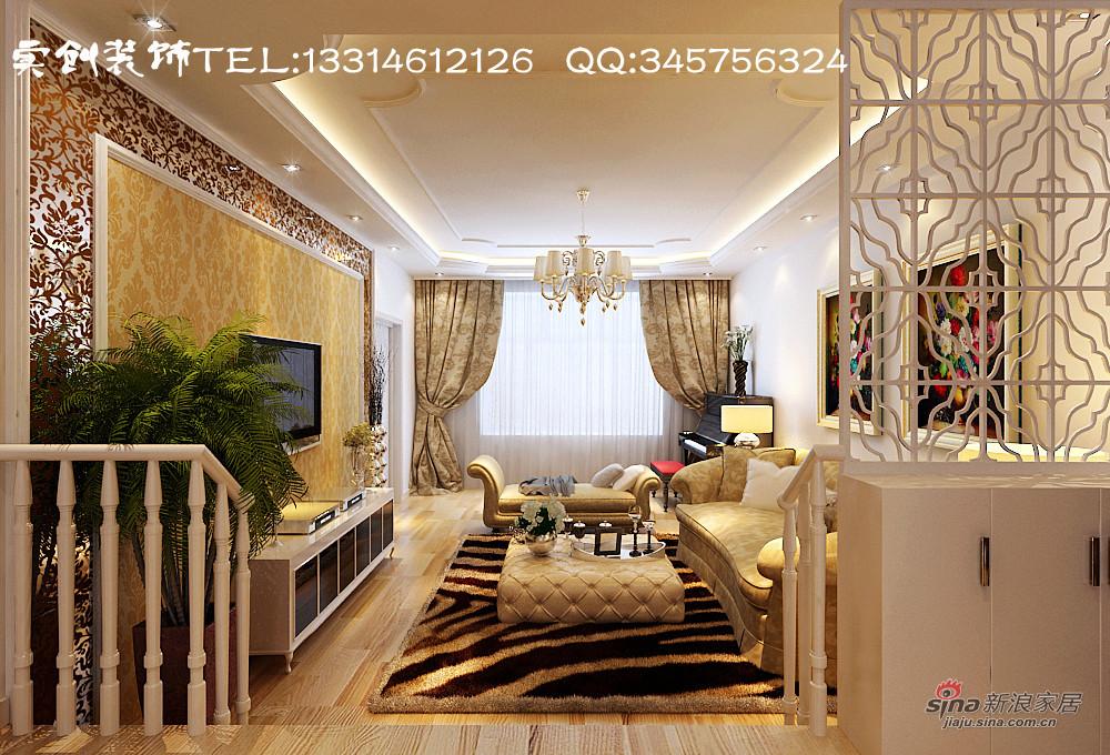 欧式 二居 客厅图片来自用户2557013183在我的专辑287071的分享