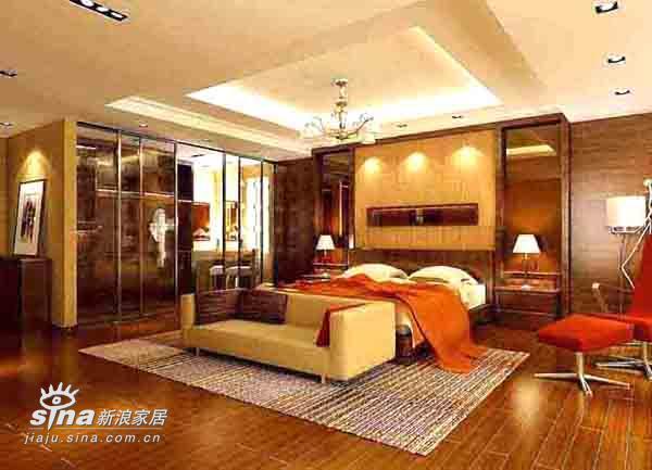 简约 别墅 卧室图片来自用户2745807237在上海别墅166的分享