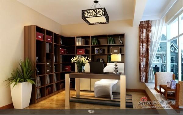 书房设计济南博洛尼15165197708