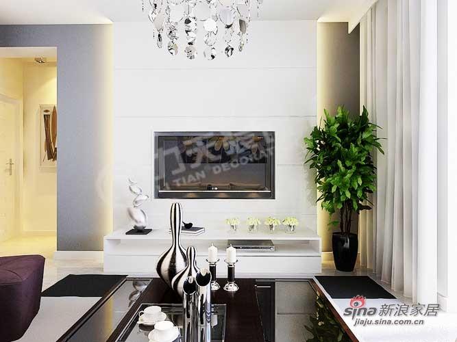 简约 一居 客厅图片来自阳光力天装饰在旷世新城46的分享